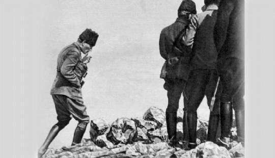 Mustafa Kemal in Kocatepe deki efsane fotografi nasil cekildi 254370k1