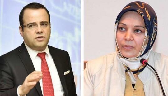 Ozgur Demirtas ve Hilal Kaplan Twitter da birbirine girdi Amerikan usagi sovmen 252741k1